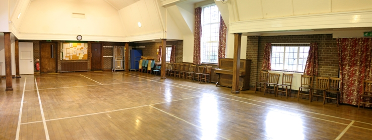 hall from front to back